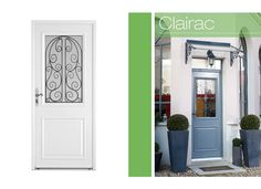 Porte d'entrée Clairac Aluminium - Portes- Lapeyre