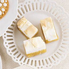 Lemon Meringue Bars - for a day when I have some time, patience and the ingredients on hand!