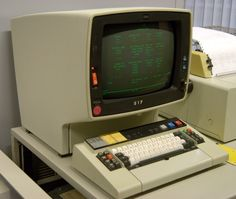 "IBM 3278 -- The 3270 series was the standard IBM mainframe ""green screen"" terminal."