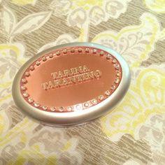 Tarina Tarantino 'Peridot' Correcting Powder Brand new, never used. Correcting powder. Super cute packaging. Tarina Tarantino Makeup Face Powder