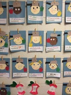 Preschool Apple Theme, Fall Preschool, Classroom Crafts, Kindergarten Activities, Preschool Activities, Classroom Ideas, Kindergarten Apples, Preschool Apples, Classroom Design