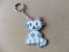 Llavero-de-gato-hecho-con-hama-beads