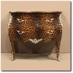 Paint Furniture, Leopard Decor And Painted Tables
