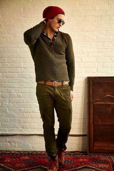 #Menswear #Trends  Michael Bastian Fall Winter 2015 Otoño Invierno #Tendencias #Moda Hombre    M.F.T.