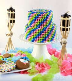 Make Your Own 2 Tier Candy Cake