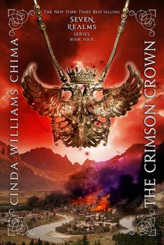 The Crimson Crown (Seven Realms, #4) by Cinda Williams Chima: I just finished this and it's a fantastic and satisfying ending to the fantasy series.  I got to meet the author this weekend and received the book a few days before it comes out so look for this in the library soon!