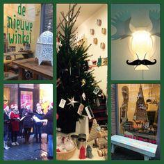 De Nieuwe Winkel in Kerstsfeer