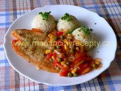 Pangasius na zelenině Krabi, Meat, Chicken, Cubs