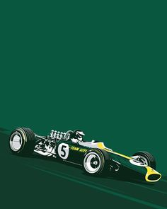 About to go into production with our F1 silkscreen prints. First up will be Jim Clark and the Lotus 49. Meticulously detailed and limited to just 50 18x24 5 color prints on 100lb French Paper.  Coming soon to www.TheCurbShop.com  #LEGENDSNEVERDIE #JIMCLARK #LOTUS #F1