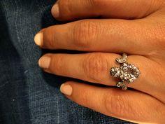 Edwardian Heart Shape Diamond Ring