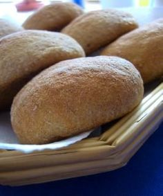 homemade whole wheat hamburger buns. puts the wow factor in a veg burger dinner.
