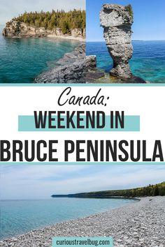 Weekend Trips, Day Trips, Canada Travel, Travel Usa, Ontario Travel, Visit Canada, Travel Oklahoma, Tobermory Ontario, New York Travel