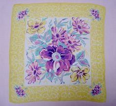 Floral Hanky