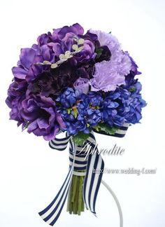ウエディングブーケ専門ショップ・アフロディーテ(Wedding Bouquet Aphrodite)  魅惑のパープルブーケ★