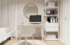 TIKA ARCHITEKTURA WNĘTRZ - Apartament w Rzeszowie - zobacz aranżacje profesjonalisty na myhome.pl Home Office, Office Desk, New Nordic, Inspiration, Furniture, Home Decor, Design, Biblical Inspiration, Desk Office