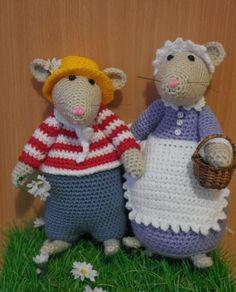 Breimaan: crochet mouse