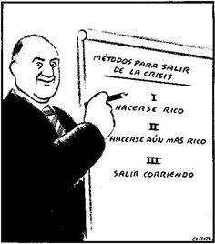 Como salir de la crisis? #Viñeta #Humor