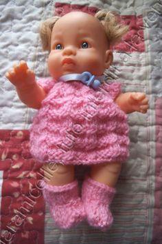 modele tricot gratuit poupon 20 cm