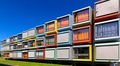 Utretch-university_WojtekGurak - students apartments- (Shipping container architecture)