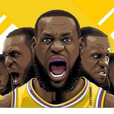 Lakers Wallpaper, Marvel Wallpaper, Basketball Art, Basketball Shirts, Nba Sports, Magic Johnson, Nba Players, King James, Los Angeles Lakers