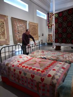 sashiko and other stitching: The Welsh Quilt Centre - part 2