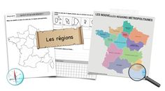 Qu'est-ce qu'une région ? Teaching French, Blog, Family Guy, Character, Baby Newborn, Cards, Teaching, Teaching French Immersion, Blogging