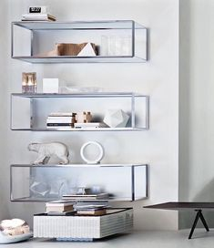 online furniture  store  ·ArchiExpo wall-mounted shelf / contemporary / walnut / aluminum. GRADO ° by Ron Gilad Molteni & C