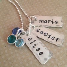 Personalized in Necklaces - Etsy Jewelry