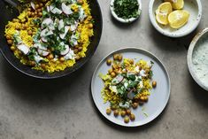 Za'atar Chickpeas and Rice