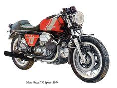 Moto Guzzi 1974 Sport