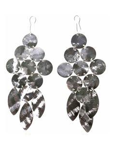 Emily Big Disc Earring in Silver **An Emily Dees Boulden Design ...