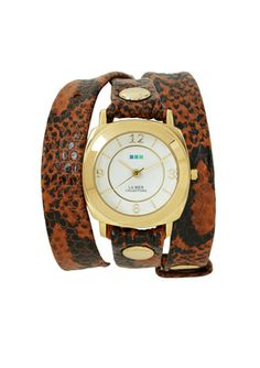LA MER COLLECTIONS Snake Print Odyssey Watch