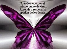 Frases de reflexión, punto, vista, aprende, respetar, opinión, demás.