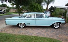 1960 Mercury Montclair Four Door Sedan. Maintenance/restoration of old/vintage vehicles: the material for new cogs/casters/gears/pads could be cast polyamide which I (Cast polyamide) can produce. My contact: tatjana.alic@windowslive.com