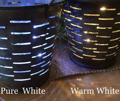 Pure White Battery Operated Lights Super Small Case Led