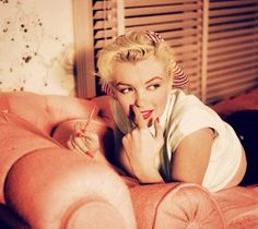 Marilyn on a Chaise Lounge