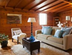 Real Estate Report: Almost Un-Renovated in Parkside, With Knotty Pine | California Home + Design