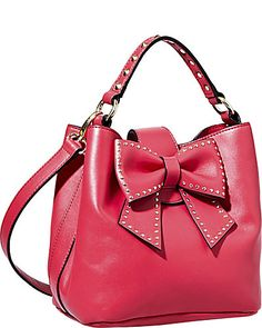 HOPELESS ROMANTIC BUCKET TOTE RED accessories handbags non leather totes
