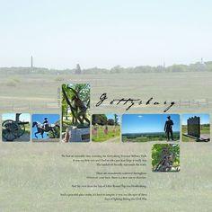 Gettysburg- A beautiful memorial park