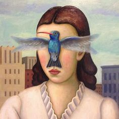 SUSAN MICHAEL BARRETT: Guest posting at Project Underblog: more living with hummingbird vision. Image credit: Rick Beerhorst, painter.