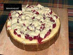 This page is the Desserts of the Braveheart Catering and Bars website. White Chocolate Cheesecake, White Chocolate Raspberry, Chocolate Brownies, Trio Of Desserts, Desserts Menu, Delicious Desserts, Scottish Desserts, Strawberry Sundae, Toasted Oats
