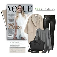 YESSTYLE.com by monmondefou on Polyvore featuring moda, PEPER, Goroke, Yves Saint Laurent, Givenchy and yesstyle