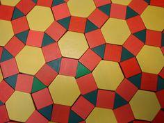 Pattern Block Tessellations
