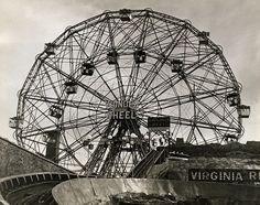 Coney Island Ferris Wheel 1938