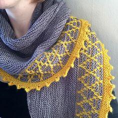 Tryst shawl by Melanie Berg