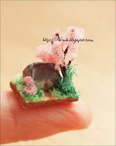Micro miniature - house for dollhouse ...