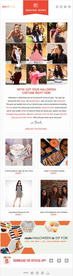 CTR success ... drive intrigue with subject line, and deliver just enough value in the email to show customers why they need to click through for the whole package
