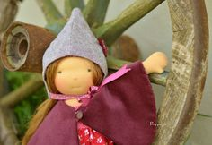 Woodland outfit for a 16-18 inch doll by Puppula, via Flickr