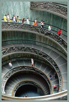 Bella Italia: Spiral - Vatican, Vatican City.