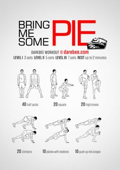 Pie Workout